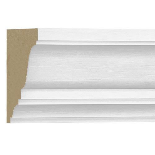 10%割引アウトレット モールディング 木製/表面シートラッピング 廻り縁・チェアレール メイプル色 120×90×3600mm [NRWR219A]