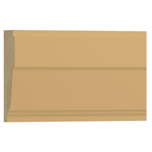 10%割引アウトレット モールディング 木製/表面シートラッピング 廻り縁・チェアレール ビーチ杢色 120×37×3600mm [NRWR667B]