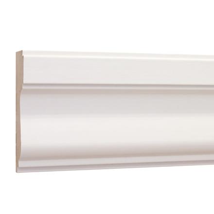 10%割引アウトレット モールディング 木製/表面シートラッピング 廻り縁・チェアレール メイプル色 120×35×3600mm [NRWR259A]