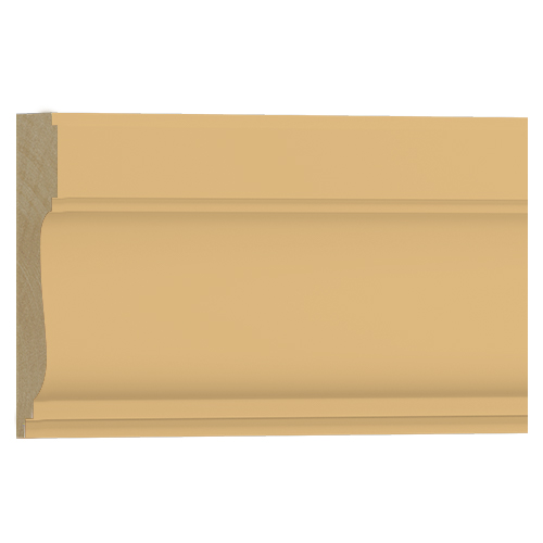 10%割引アウトレット モールディング 木製/表面シートラッピング 廻り縁・チェアレール ビーチ杢色  120×35×3600mm [NRWR259B]