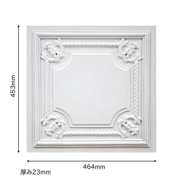 【NGPF008B】ゴルパ 壁面パネル FRP製 453×464×23mm