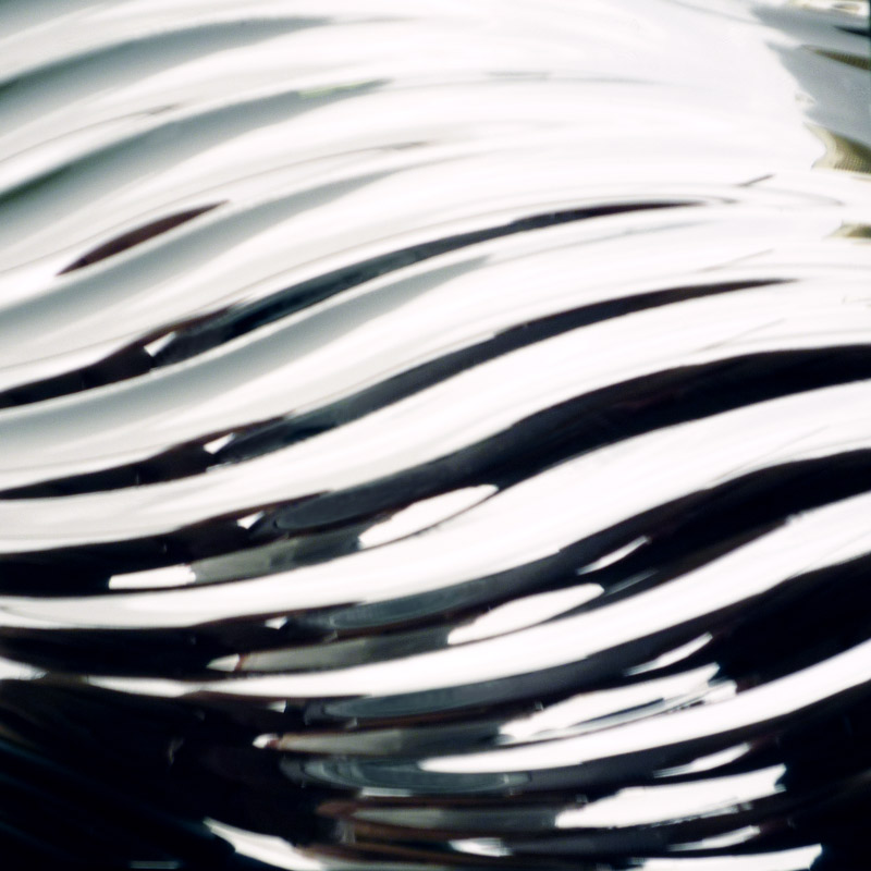 【NDCB013-3】壁面装飾パネル ABS樹脂製 サンプロント シルバー 裏面シール有り 1/3カット 990×1200mm