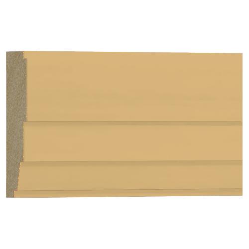 10%割引アウトレット モールディング 木製/表面シートラッピング 廻り縁・チェアレール ビーチ杢色 120×40×3600mm [NRWR671B]