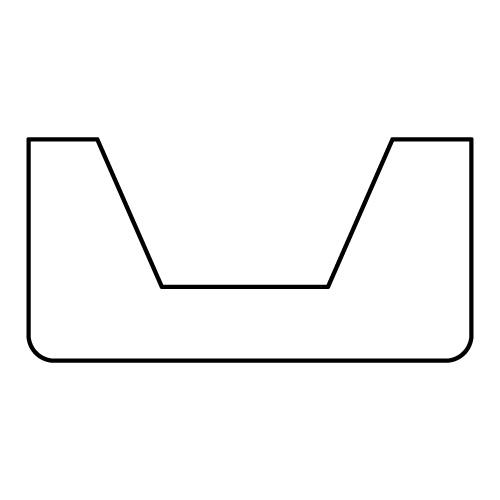 【NMGH1191U】 化粧梁用ブラケット  60×120×120mm (NMGH1191と組合せ可)