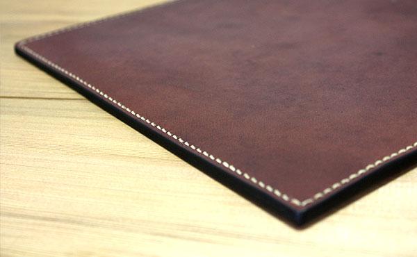 栃木レザー クラッチバッグ A4サイズ【オーダーメイド お好みの革色糸色選べます】送料無料