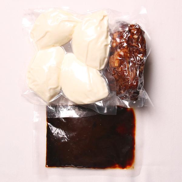 「秦淮春」煮豚と蒸しパン(4個入り)