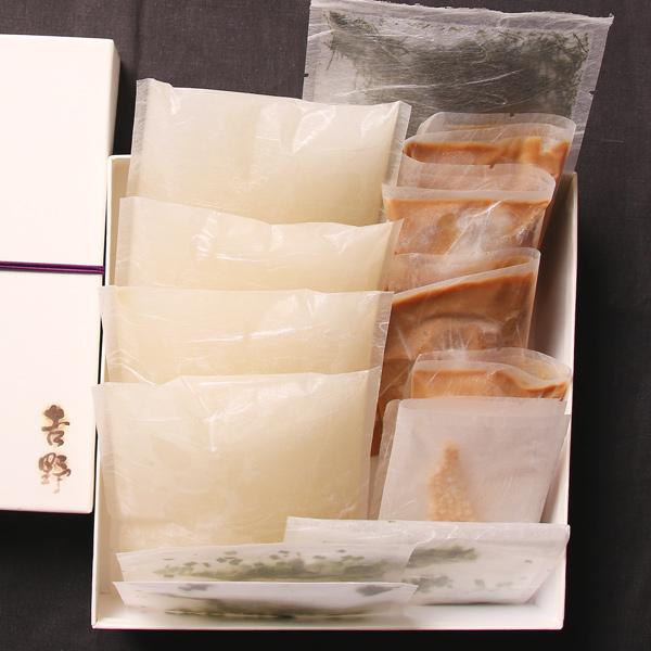 【宅配】吉野の鯛茶漬けセット(4名様分)