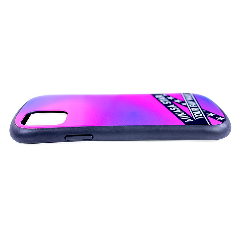 iPhone 11/XR 対応ハイブリッドガラスケース