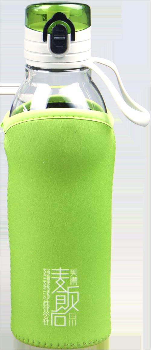 麦飯石入り水筒_Water Bottle