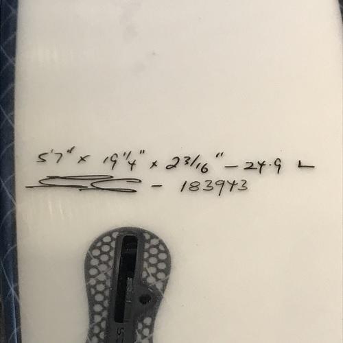 【JS】ショートボード BLACK BOX2 5'7