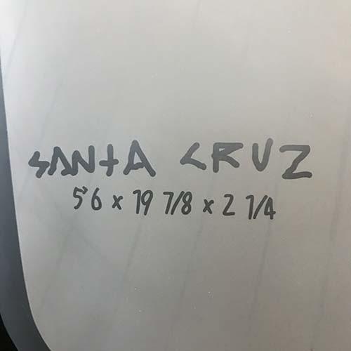 【SANTA CRUZ】ショートボード Vampirate 5'6