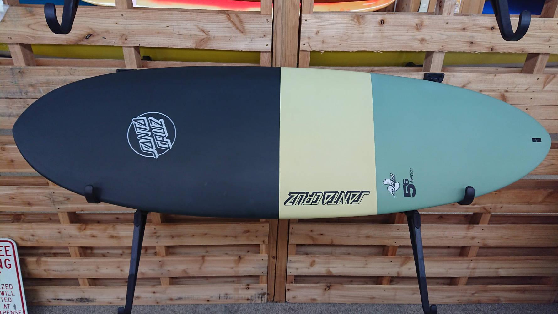 SANTACRUZサーフボード SOY BEANS5.6