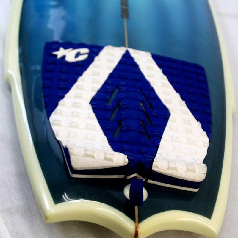 【SURFCREW】ショートボード KUSTOM SURFBOARDS5'10