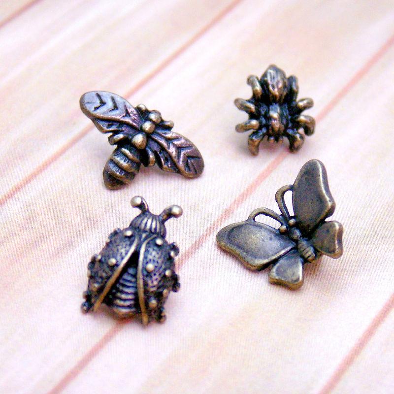 昆虫 ボタンセット