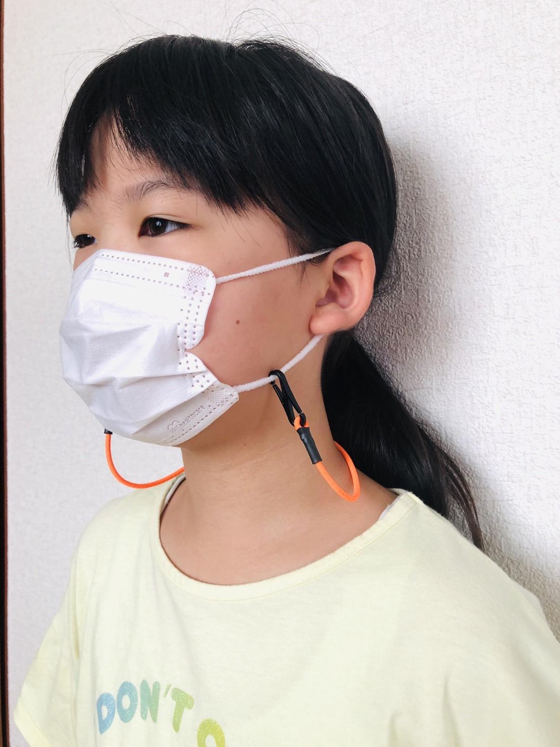 マスク用ネックストラップ