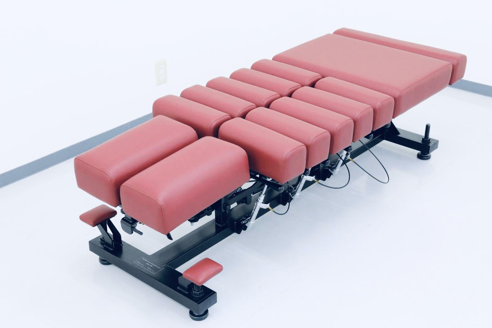 【特許庁登録済】脳と頸椎、体のシステムを調整するテーブル(The Brain Cervical Spine Body System Tuning Table)(骨格矯正用ベッド) ※ 受注生産