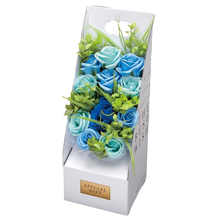 ローズスタンドボックス ブルー