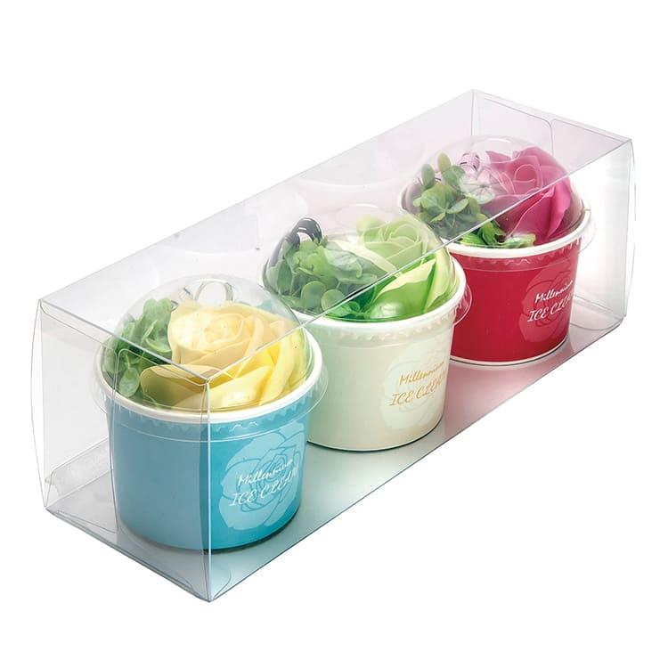 アイスカップ3色セット イエロー/グリーン/ピンク