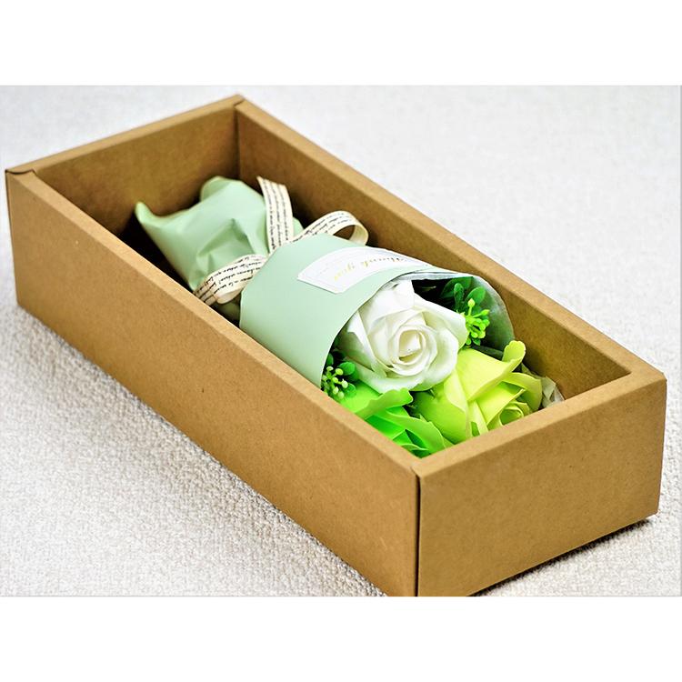 フェアリー3輪ブーケ ●BOX入り グリーン