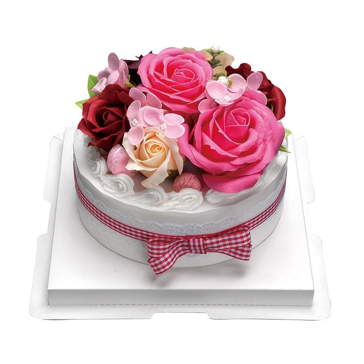 フラワーデコレーションケーキ フランボワーズ