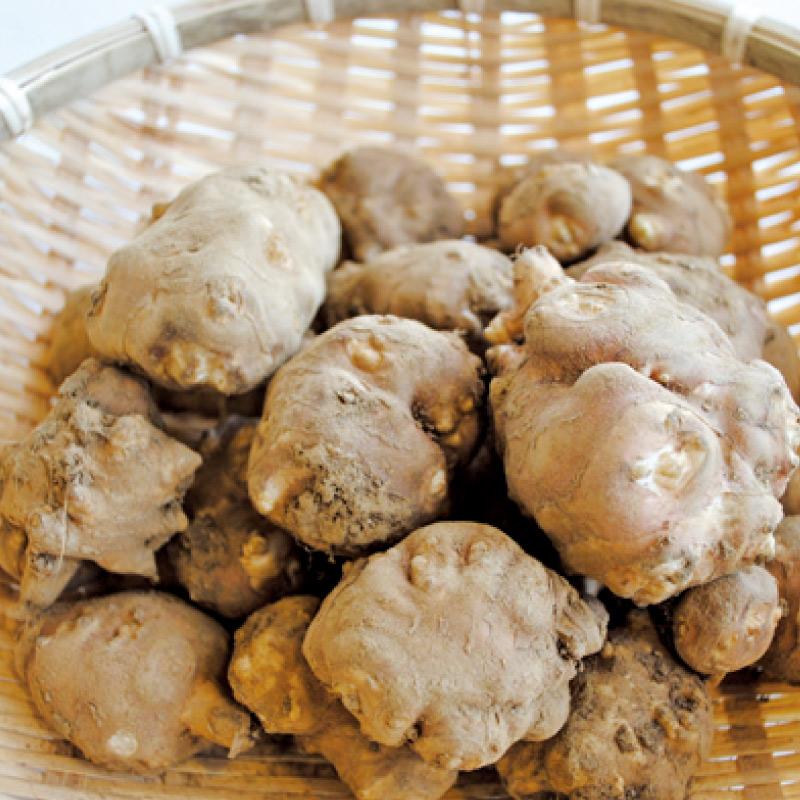 お野菜を食べるスープ 生姜仕立て 菊芋の和風スープ