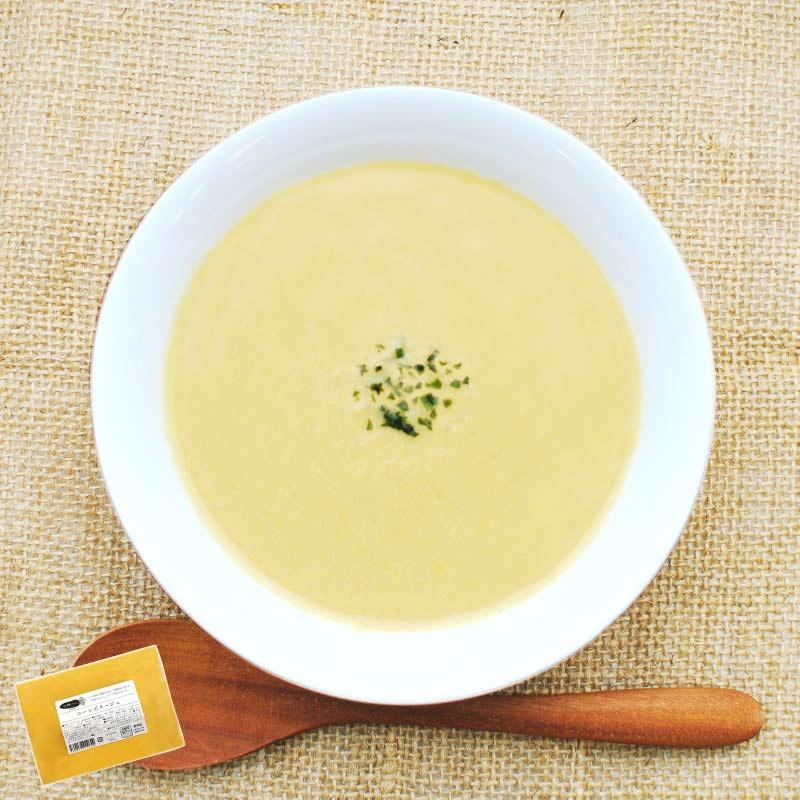 お野菜を食べるスープ コーンポタージュ