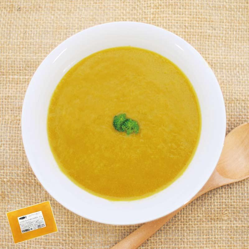 お野菜を食べるスープ じゃがいもとかぼちゃのポタージュ