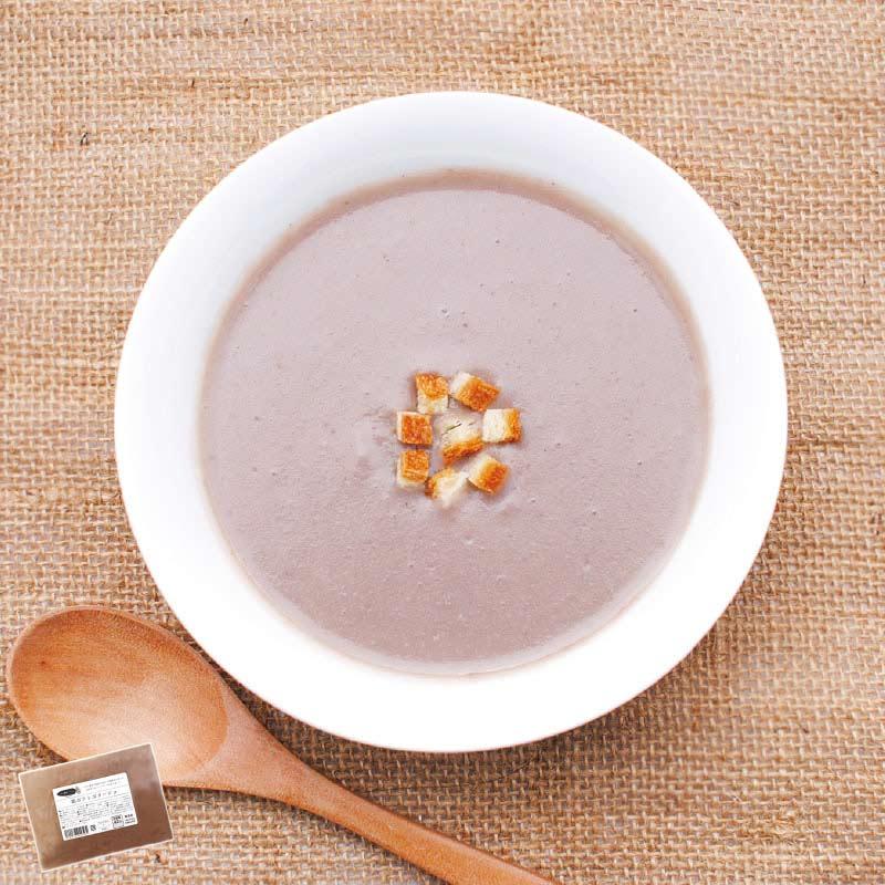 お野菜を食べるスープ 紫ポテト ポタージュ