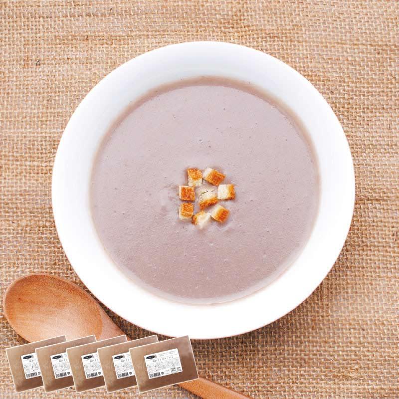 お野菜を食べるスープ 紫ポテトポタージュ 5袋セット