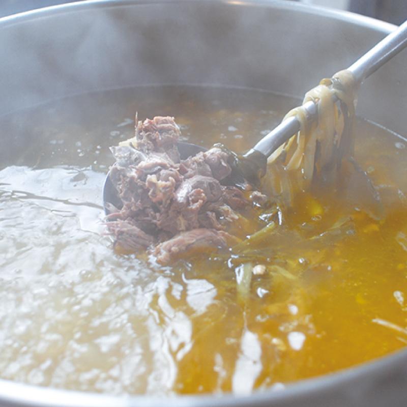 お野菜を食べるスープ わけぎのチキンスープ 5袋セット