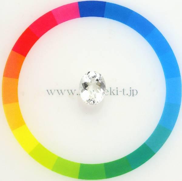天然オパール 1.36ct 【ハイアライト】 ホワイト UV蛍光 メキシコ