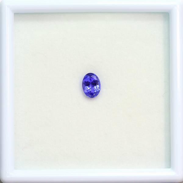 天然タンザナイト 0.84ct 【パープリッシュブルー】