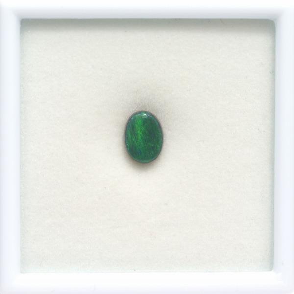 天然ブラックオパール 1.41ct 【グリーン】 ライトニングリッジ