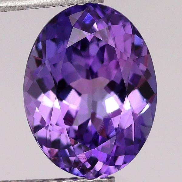 天然ゾイサイト 2.66ct 【妖艶な紫】 希少色