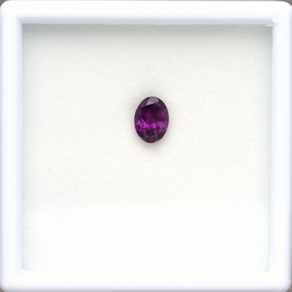 天然ロードライトガーネット 1.50ct 【妖艶な紫】