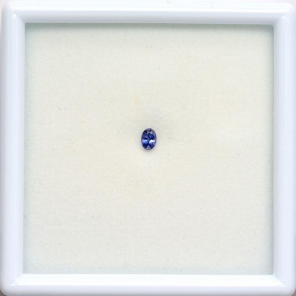 天然ベニトアイト 0.11ct 【輝くブルー】 アメリカ