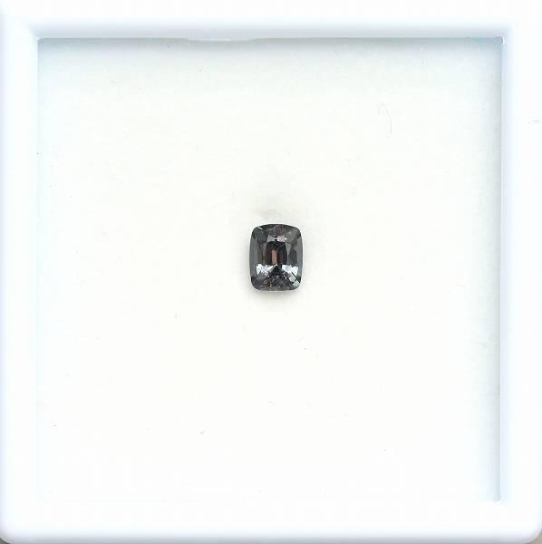 天然スピネル 0.88ct 【パープリッシュブラック】 ミャンマー