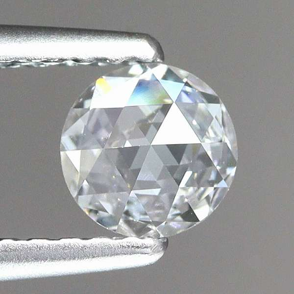 天然ダイヤモンド 0.31ct 【D・VS1・ローズカット】 中宝研ソ付