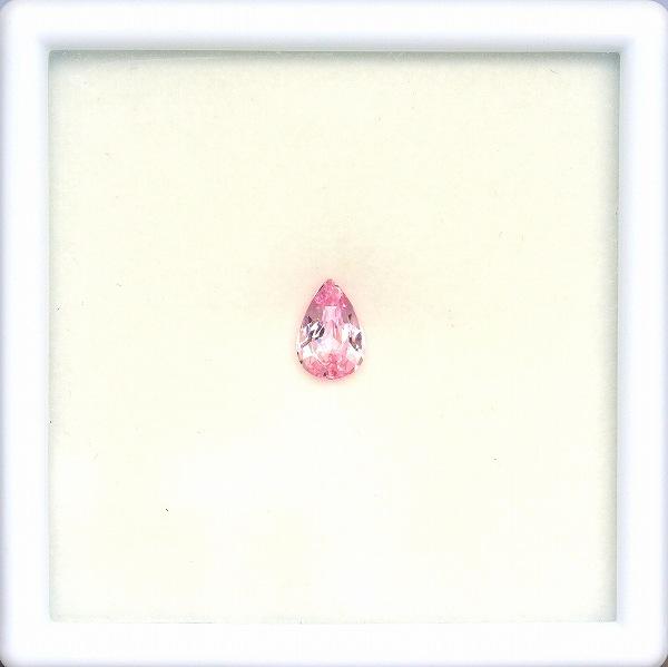 天然ピンクサファイア 0.99ct【マダガスカル】 ペアシェイプ