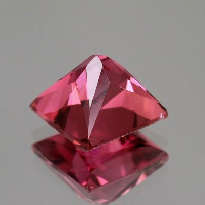 天然トルマリン 1.23ct 【ピンク】 プリンセスカット ◇コレマ品