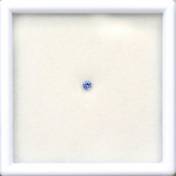 2.5mm◇天然ベニトアイト 【煌めくブルー】 ラウンド