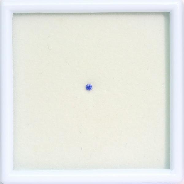 1.7mm◇天然ベニトアイト 【美色ブルー】 ラウンド