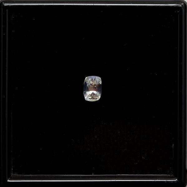 天然アンデシンラブラドライト 0.94ct 【レッドレインボー】 クッション