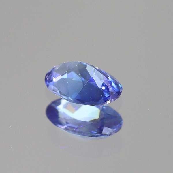 天然ベニトアイト 0.07ct 【輝くブルー】 オーバル