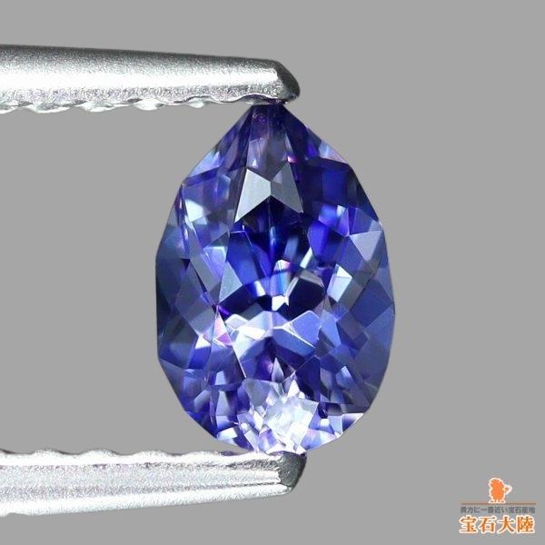 天然ベニトアイト 0.51ct 【至極の輝き】 美濃色ブルー