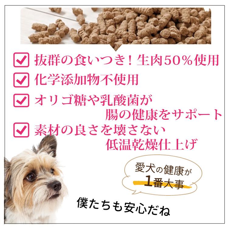 【お試し】こだわりの愛犬食かりかり100g