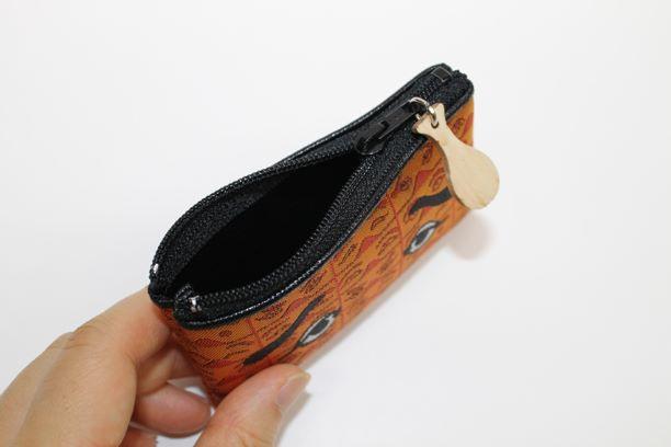 サヌイ織物「にわか小銭入れ」