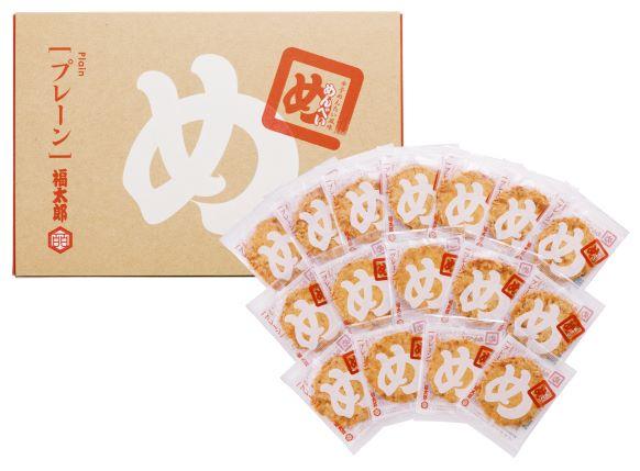 福太郎「めんべい(プレーン)5箱セット」
