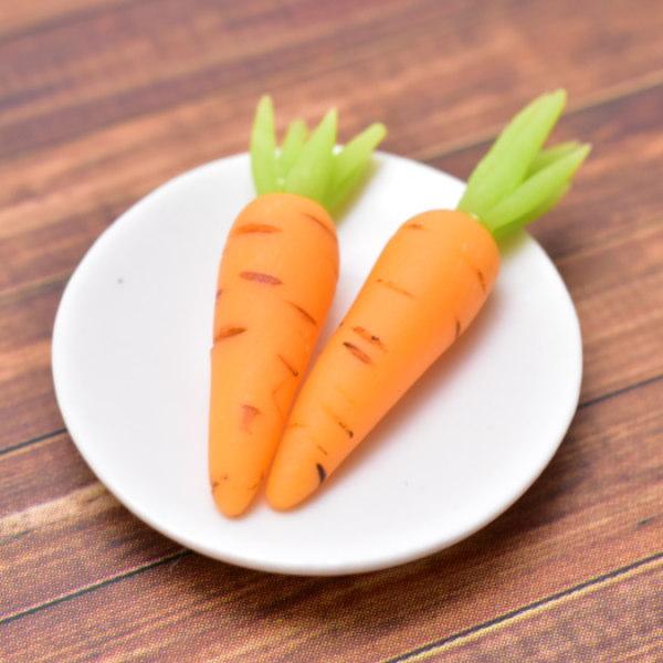 ミニチュアフード 野菜シリーズ ニンジン 2個セット [SMLVEG9] [品番:35754] [m-s][imp]【ネコポス配送対応】【C】