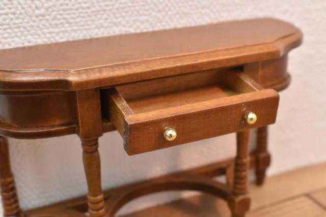 ミニチュア家具 サイドボード ダークウォルナット [ID012-WL] [m-s]【 ネコポス不可 】【C】